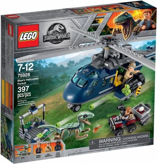 Lego Jurassic World: Pościg za śmigłowcem (75928)
