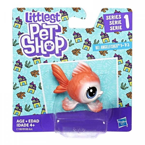 Littlest Pet Shop Figurki podstawowe Angel Fish (B9388/C1180)