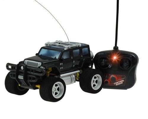 Auto na radio JEEP R/C ładowarka Piankowe koła