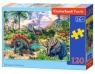 Puzzle Dinosaur Volcanos 120 elementów