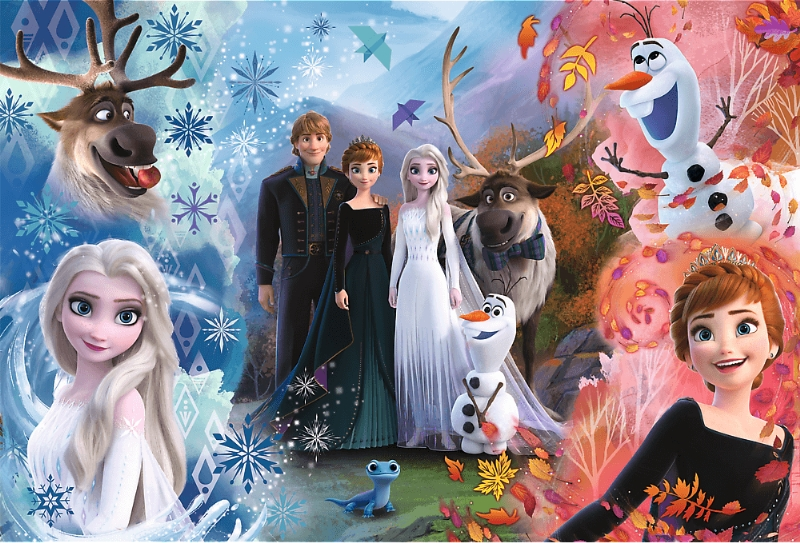 Puzzle 160: Frozen II - Chcę uwierzyć snom