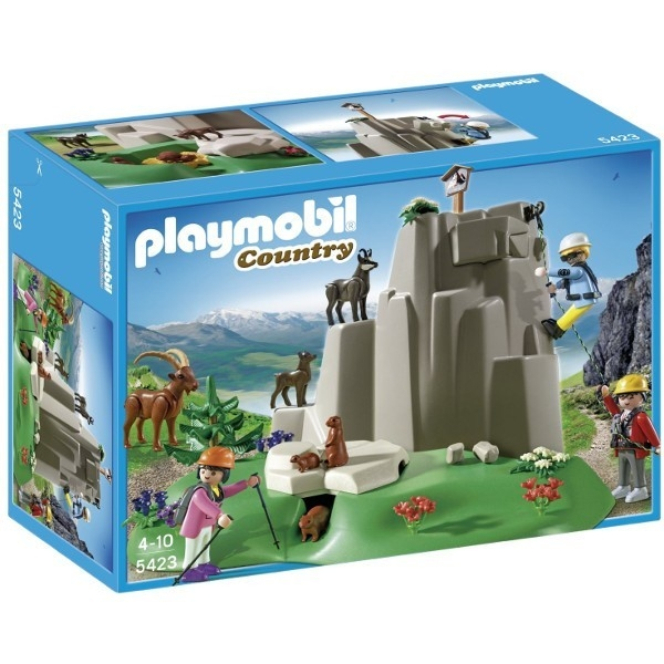 PLAYMOBIL Skałki górskie ze zwierzętami górskimi