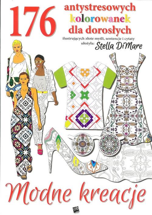 Modne kreacje 176 antystresowych kolorwanek dla dorosłych DiMare Stella
