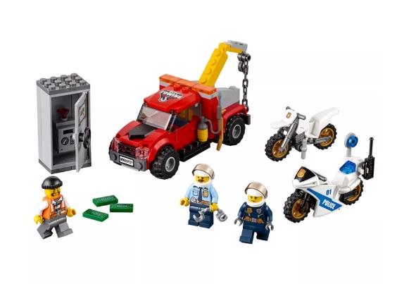 Lego City: Eskorta policyjna (60137)