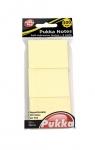 Karteczki samoprzylepne Pukka Pad 50x38mm 300 sztuk kolor żółty (6723-NTS)