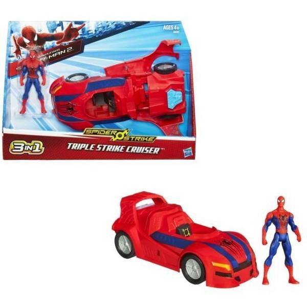Spiderman Pojazd Bojowy 3 w 1