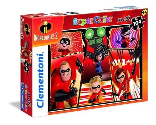 Puzzle Supercolor Maxi Iniemamocni 2 104