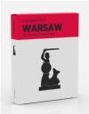 Warsaw Crumpled City Map