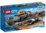 Lego City Terenówka z motorówką (60085)