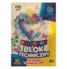 Kolorowy blok techniczny A3/10k, 170g/m² (106 021 010)