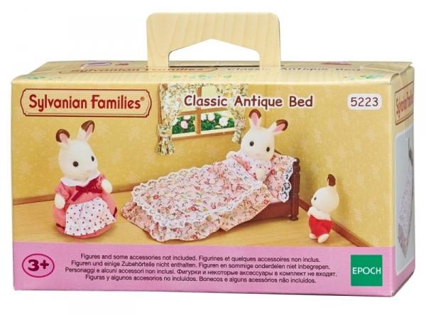 Tradycyjne zabytkowe łóżko (5223)
