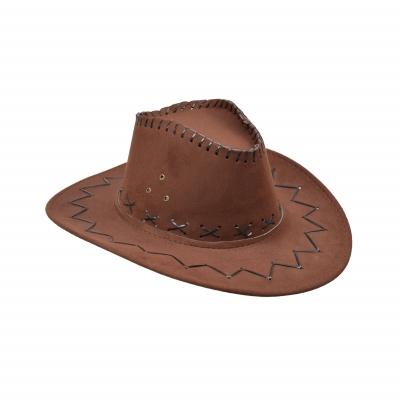 Kapelusz kowboja - welurowy SH2235