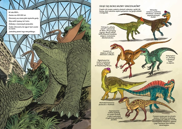 Dinozaury skamieliny i pióra MK Reed, Joe Flood