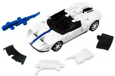 Puzzle 3D Cars - Ford GT - poziom 2/4 G3