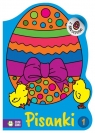 Wielkanocne kolorowanki Pisanki 1