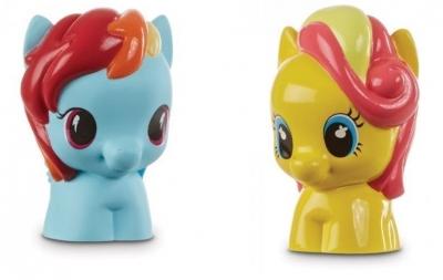 Playskool My Little Pony 2-pak Rainbow Bumble
