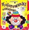 Kolorowanki naklejanki 6 Wesoły klaun
