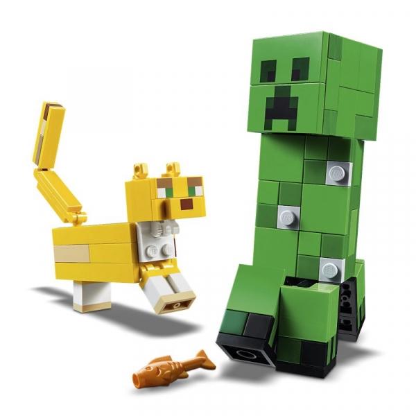Lego Minecraft: BigFig Creeper i Ocelot (21156)