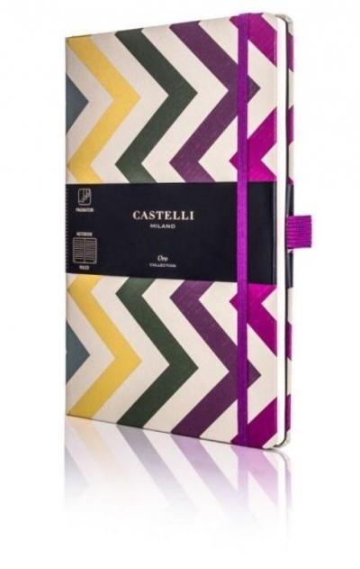 Notatnik 13x21cm linia Castelli Oro Frets