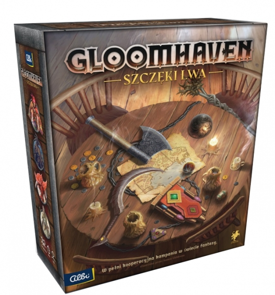 Gloomhaven: Szczęki Lwa