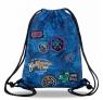 Coolpack - Sprint - Worek sportowy - Blue (Badges G) (B73156)