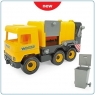 Middle Truck Śmieciarka żółta (32123)