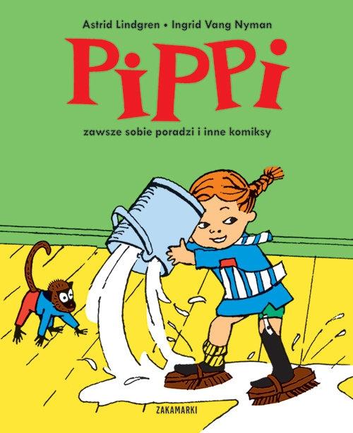 Pippi zawsze sobie poradzi i inne komiksy Lindgren Astrid