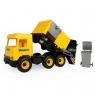Wader, Middle Truck śmieciarka żółta (32123)