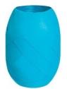 Wstążka kłębuszek 20m/10mm - matowa turkusowa