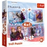 Puzzle 4w1: Frozen 2 - Podróż w nieznane (34323)