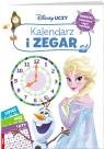 Disney uczy kraina lodu. Kalendarz i zegar