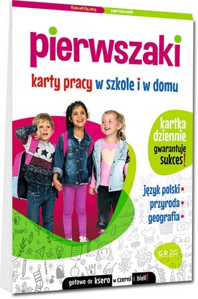 Pierwszaki. Karty pracy w szkole i w domu Marta Kurdziel