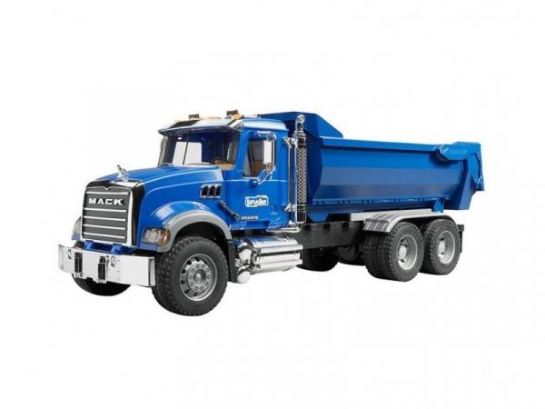 Pojazd Mack Granite Wywrotka LKW niebieska (BR-02823)