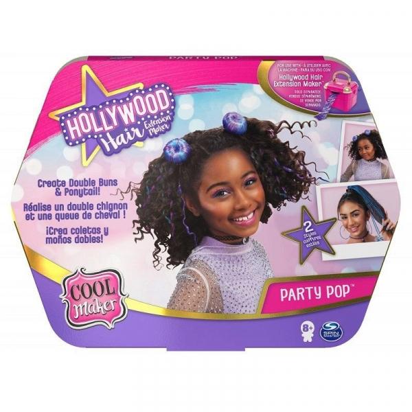 Zestaw ozdób COOL MAKER Hollywood Hair zestaw uzupełniający 20125275 (6058276/20125275)