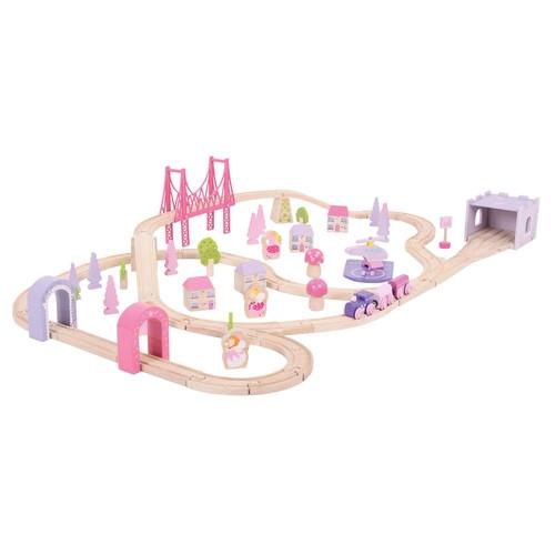 Zestaw kolejowy i Czarodziejskie miasteczko (BJT023)