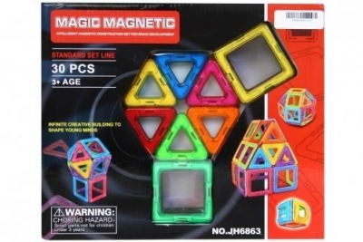Klocki magnetyczne 30el