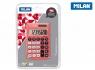 Kalkulator kieszonkowy Milan - Czerwony (150908RBL)