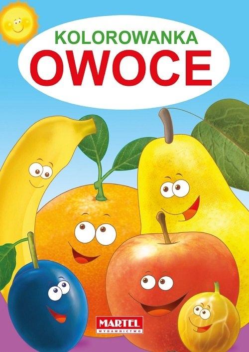 Kolorowanka Owoce Żukowski Jarosław