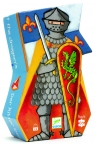 Puzzle postaciowe Rycerz i smok (DJ07223)