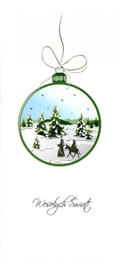Karnet Święta - Bombka