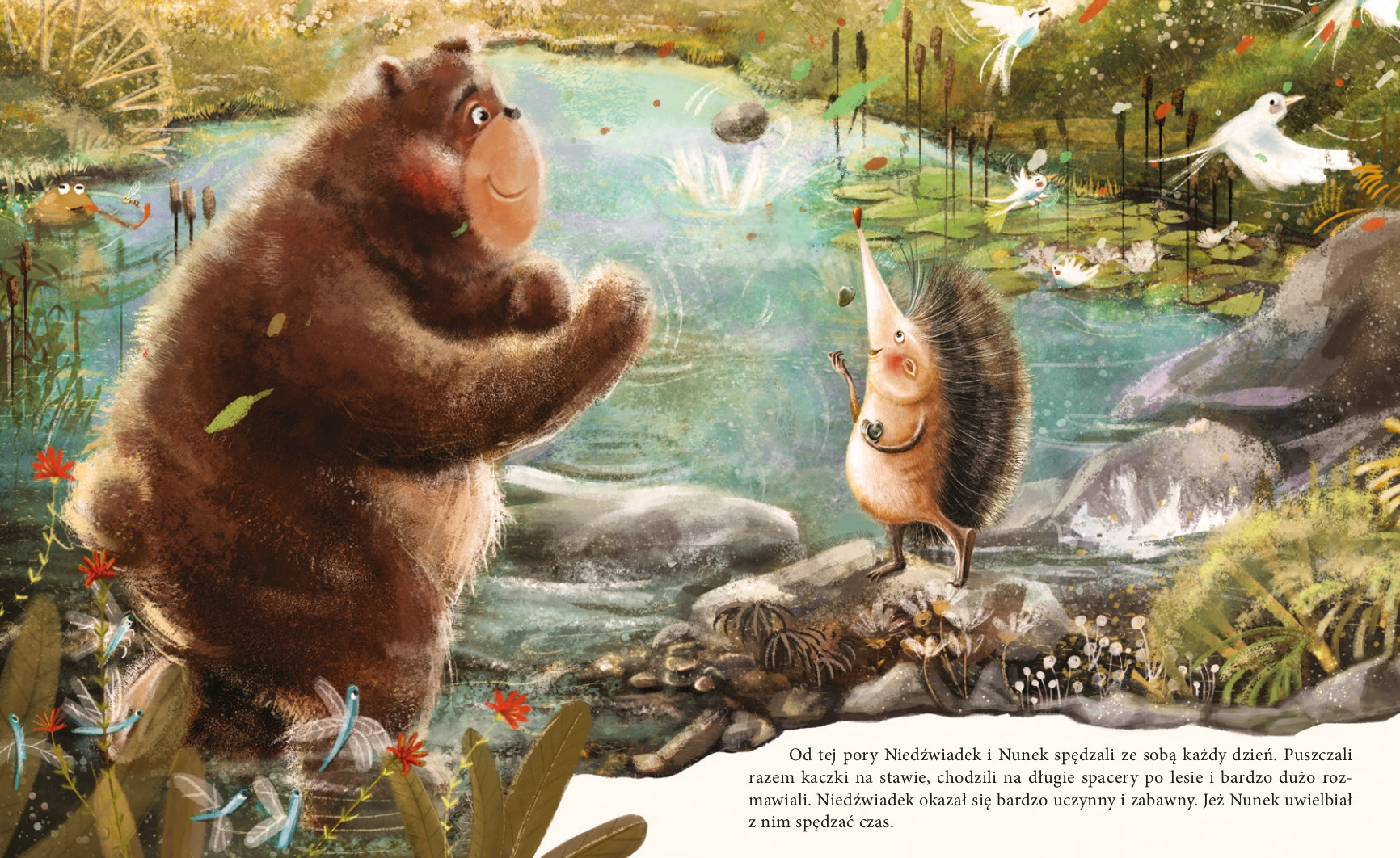 Niedźwiadek szuka przyjaciół. Tom 1 Kamińska Monika
