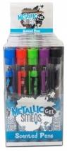 Pachnące długopisy żelowe metaliczne Smens 5 sztuk