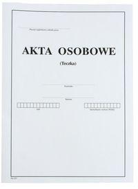 Teczka na akta osobowe A4 biała (603523)