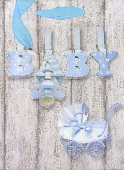 Torebka prezentowa M Baby 1327-03