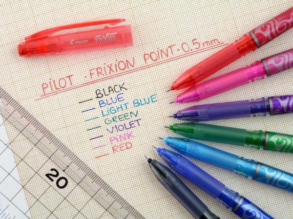 Wymazywalny cienkopis Pilot FriXion Point Niebieski (BL-FRP5-L)