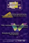 Miniatury matematyczne 54 Bobiński Zbigniew, Nodzyński Piotr, Uscki Mirosław