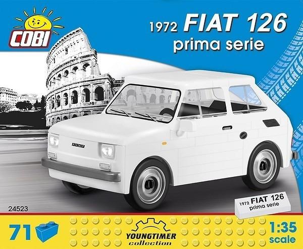Cars 1972 Fiat Prima Serie (24523)