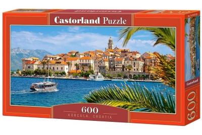 Puzzle Korcula, Croatia 600 (B-060238)
