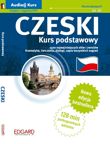 Czeski Kurs podstawowy z nagraniami MP3 Mazurek Anna