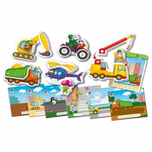 Park samochodowy - Gra edukacyjna (RK1040-06)